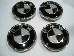 """Колпачки диска ЦО (заглушка диска) центрального отверстия BMW 68мм. Диаметр 18"""", 4 шт."""