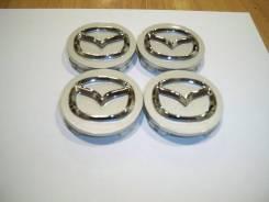 """Колпачки диска ЦО (заглушка диска) центрального отверстия Mazda 57мм. Диаметр 16"""", 4 шт."""