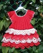 Вяжу на заказ детские, летние платья