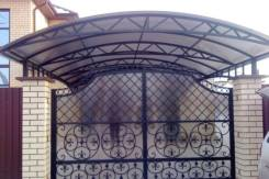Изготовление и установка металлоконструкций (двери, решётки, ковка)
