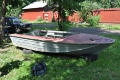 Южанка-2. 1990 год, длина 4,00м., двигатель подвесной, 30,00л.с., бензин