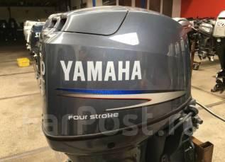 Yamaha. 60,00л.с., 4х тактный, бензин, нога L (508 мм), Год: 2014 год