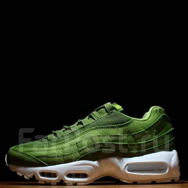 c36cbc12 Кроссовки Stussy X Nike Air Max 95 Olive Green - Обувь в Омске