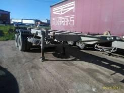 Одаз 9385. Продается полуприцеп, для перевозки 20 футовых контейнеров, 25 800 кг.