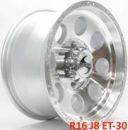 Новые! GT Wheels R16 J8 ET-30 6X139.7 [2770]. 8.0x16, 6x139.70, ET-30, ЦО 110,1мм.