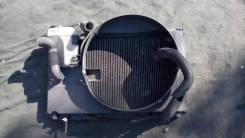 Радиатор охлаждения двигателя. Toyota Mark II Wagon Blit, GX110W, GX110