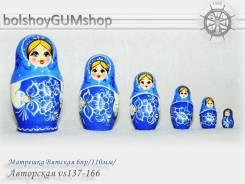 Матрешка Вятская 6пр/110мм/Авторская vs137-166