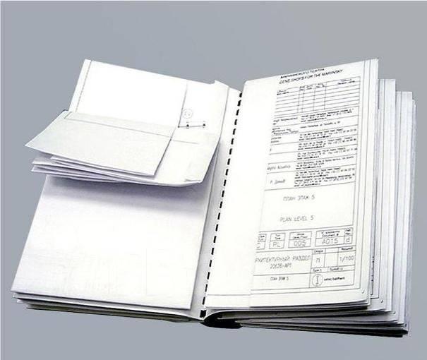 Печать и копирование проектов, чертежей, Autocad Компас Visio