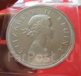 Южная Африка 5 Шиллингов 1957 Серебро