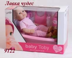 Пупс 9122 в ванне / BABY TOBY /