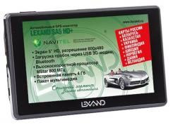 GPS навигатор Lexand SA5 HD+ лицензия Navitel Россия