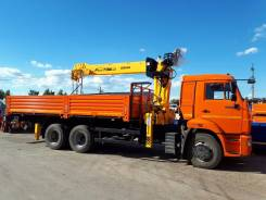 Камаз 65115. с КМУ Soosan 736 L2TOP, 11 000 куб. см., 12 600 кг., 18 м. Под заказ