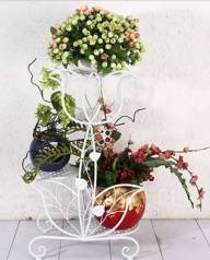 Подставки для цветов.