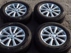 №2223 225/65R17 Dunlop SJ8 + диски Sibilla [Hakolecax]. 7.0x17 5x114.30 ET38 ЦО 73,0мм.