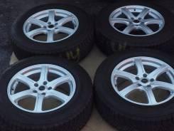 №2230 235/65R18 Bridgestone + диски Feid [Hakolecax]. 7.5x18 5x114.30 ET42 ЦО 73,0мм.
