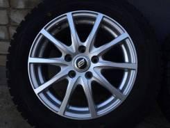 Как новые. Зимние колеса 205-60-16 на литье. Только из Японии. 6.5x16 5x114.30 ET50