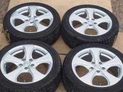 №2277 235/45R17 Dunlop DSX + диски Sparco Япония! [Hakolecax]. 7.0x17 5x112.00 ET48