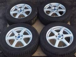 №2297 225/65R17 Bridgestone DM-V1 + диски Bridgestone Feid [Hakolecax]. 7.0x17 5x114.30 ET45