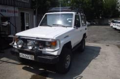 Toyota Land Cruiser Prado. механика, 4wd, 2.4 (97 л.с.), дизель, 200 000 тыс. км