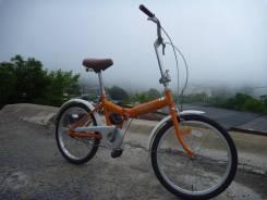 """Велосипед складной 46, из Японии! 1 скорость. Колеса 20""""."""