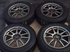 №2213/2212 225/60R17 Michelin + диски A-Tech Schneider [Hakolecax]. 8.0x17 5x100.00, 5x114.30 ET46 ЦО 73,0мм.