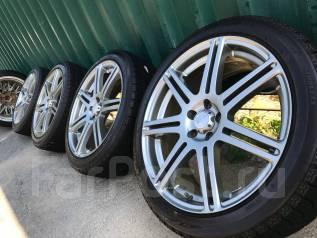 Японский комплект Bridgestone Beo 5*100+жирная зима 215/45/18 2014 год. 7.5x18 5x100.00 ET49 ЦО 73,0мм.