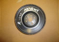 Шкив помпы. Hyundai Accent, LC2, LC Двигатели: G4EB, G4EA, G4EK, G4ECG