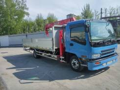 Isuzu Forward. Манипулятор 2004, 7 000 куб. см., 5 000 кг.