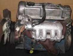 Двигатель в сборе. Toyota Blizzard, LD20