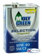 Moly Green. Вязкость 10W-40, синтетическое