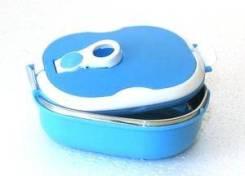 Миска герметичная SB-07, овальная, синяя