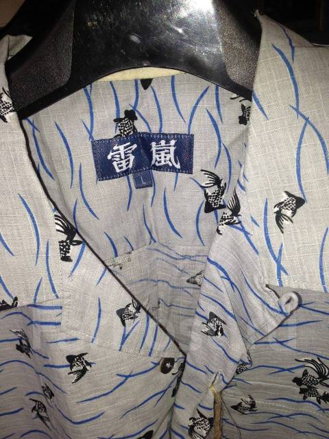 cf97b0e4ebcd7 Sale! Летняя мужская рубашка (Япония) - Основная одежда во Владивостоке