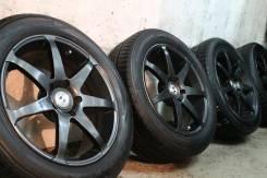 Только из Японии=Super Japan Sport=RAYS Versus SS7=+жирные япон шины. 7.0x17 5x114.30 ET45 ЦО 73,0мм.