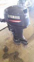 Yamaha. 40,00л.с., 2х тактный, бензин, нога S (381 мм), Год: 2014 год