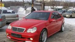 Обвес кузова аэродинамический. Mercedes-Benz C-Class, W203 Mercedes-Benz W203
