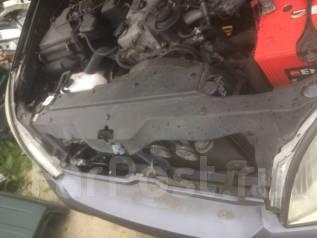 Дефлектор радиатора. Toyota Land Cruiser Prado, GRJ120W, RZJ120W, VZJ120W, VZJ120, GRJ120, RZJ120, TRJ120W, TRJ120