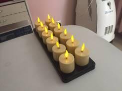 Лампы-свечи.