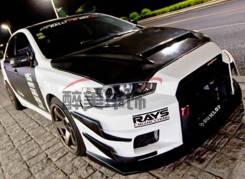 Обвес кузова аэродинамический. Mitsubishi. Под заказ