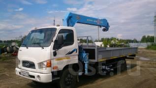 Hyundai HD78. Продам 2010 г. с манипулятором Tadano FX300-14.6 метра, 3 900 куб. см., 5 000 кг.