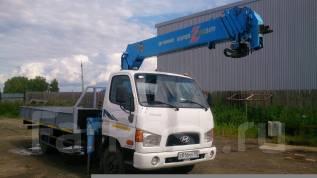 Hyundai HD78. Продам 2010 г. с манипулятором Tadano FX300-14.6 метра, 3 900 куб. см., 5 000 кг. Под заказ