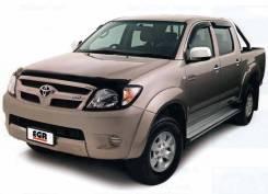 Дефлектор капота. Toyota Hilux