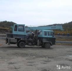 Hino Ranger FC. Автокран Hino Ranger, 6 014 куб. см., 6 125 кг., 21 м.