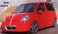 Обвес кузова аэродинамический. Toyota Funcargo