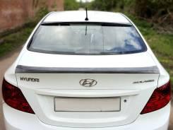 Спойлер. Hyundai Solaris, HCR Двигатели: G4LC, G4FC