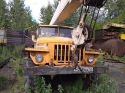 "Ивановец КС-3574. Автокран КС-3574 ""Ивановец"" Урал-5557, 740 куб. см., 14 000 кг., 14 м."