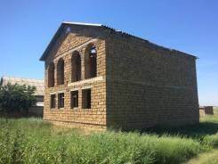 Продаётся 2-этажный дом в посёлке Фрунзе!. Фрунзе, р-н Сакского района, площадь дома 240 кв.м., централизованный водопровод, от агентства недвижимост...