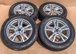 Bridgestone FEID H5 7Jx17'' 5x100 ET53 D73.1 / 225/60R17 зима 6-8 мм. 7.0x17 5x100.00 ET53 ЦО 73,1мм.