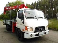 Hyundai HD78. 2012. Автокран-манипулятор., 4 000 куб. см., 4 500 кг.