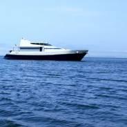 Морские прогулки, на роскошном моторном катере! 65 футов. 15 человек, 40км/ч