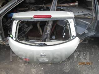 Дверь багажника. Nissan Tiida, C11, C11X